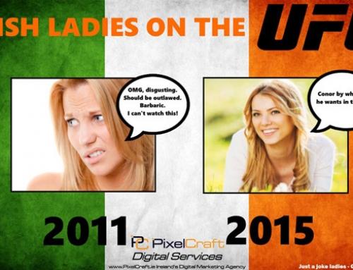 PixelCraft Infographic: Go'wan Conor McGregor